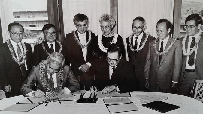 1988 Ryukyus partnership