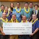 UH culinary programs receive Hawai'i Food & Wine Festival donations