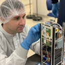 Essential satellite research, development continues in 'clean room'