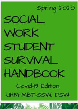 social work student survival handbook