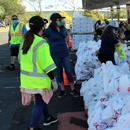Leeward CC hosts mass food distribution