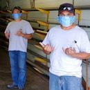 Volunteer mask makers help UH workers
