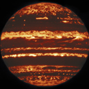 Jupiter's 'jack-o-lantern' glow captured with UH-built instrument