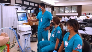 Respiratory Care students