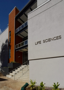 life sciences building exterior