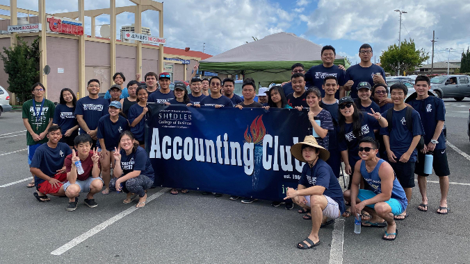 accounting club group photo
