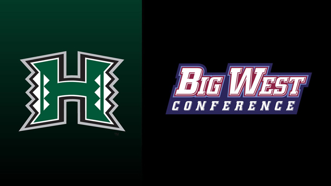 UH and Big West Conference logos