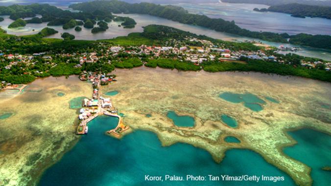 koror, palau coast