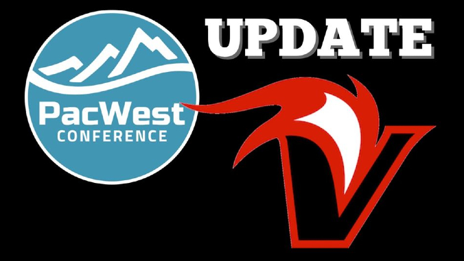 pacwest and vulcan athletics logo