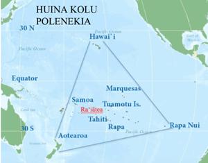 Polynesian Triangle map