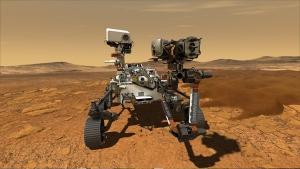 rover on mars