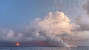 kilauea erupting