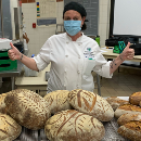 Student bakers donate bread to help feed Maui community