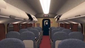 animated train car