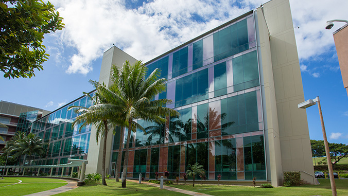 exterior shot of cancer center