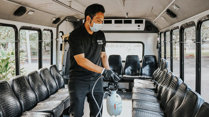 Commuter Services revs up health and safety practices