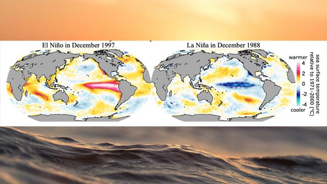 graphic of el nino and la nina