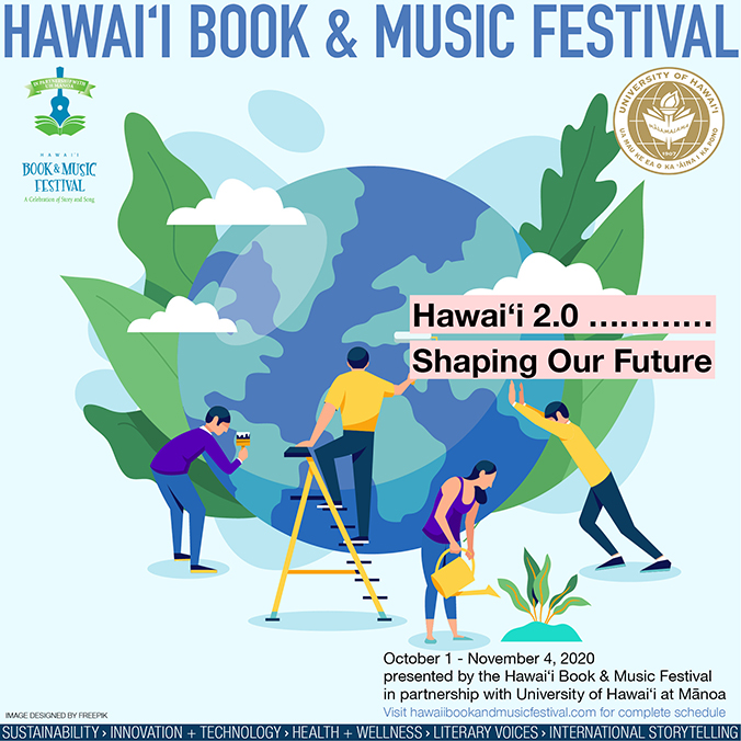 Hawai Book and Music Festival poster