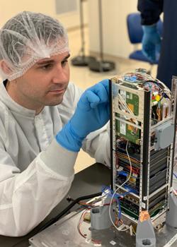 researcher working on Neutron-1