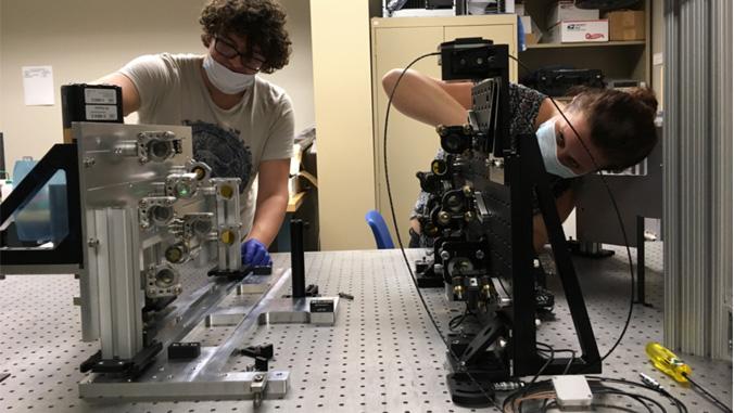 Mānoa: UH-built infrared upgrade to Maunakea telescope to