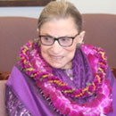 Ruth Bader Ginsburg created close ties with UH law school