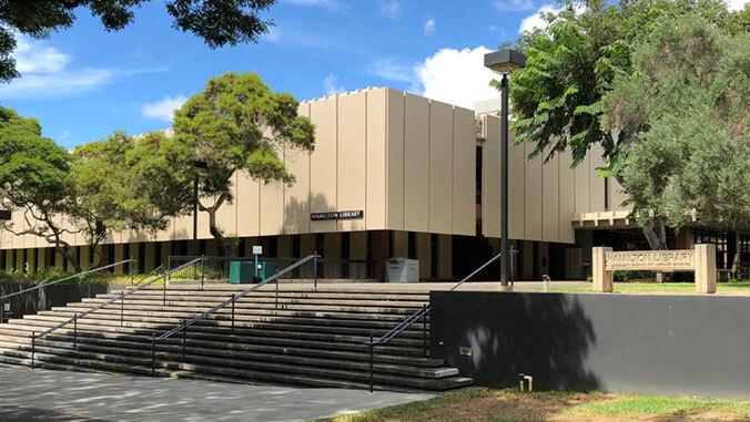 Hamilton Library exterior