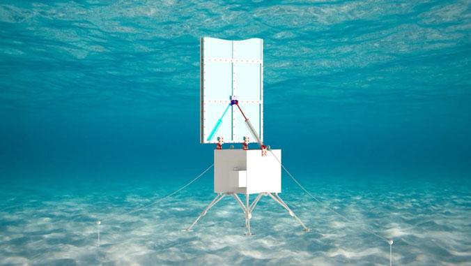 desalination system prototype under water
