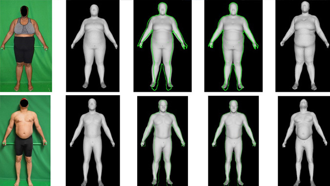imaging of body compositions