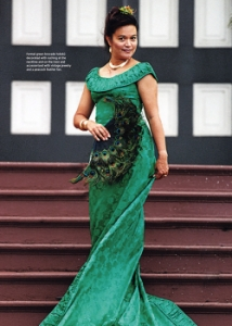 dressed woman