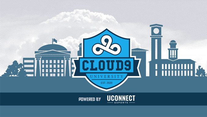 cloud9 logo on a banner