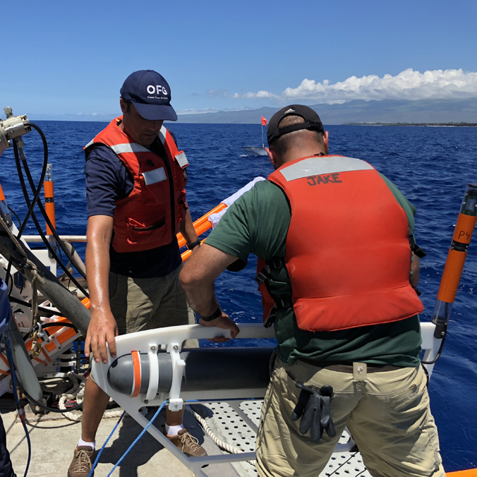Scientific breakthrough: First images of freshwater plumes at sea