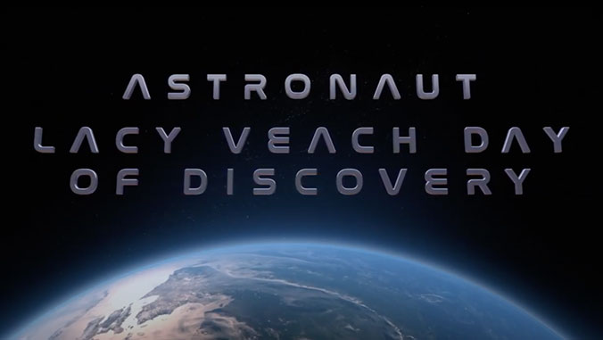 Astronaut Lacy Veach Day of Discovery