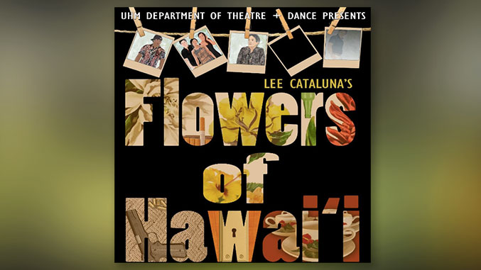 flowers of hawaii promotional poster