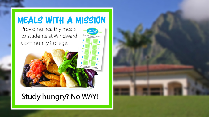 meals with a mission banner