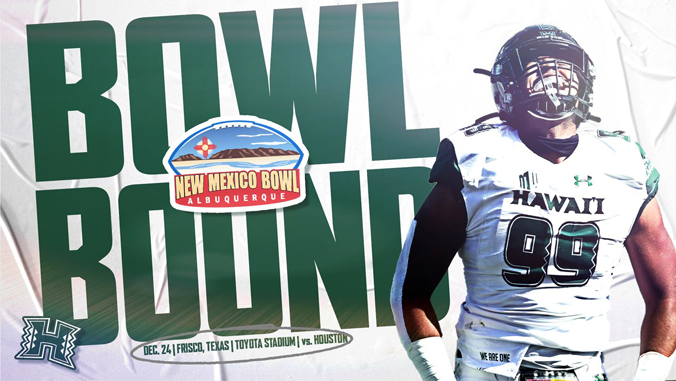 UH Bowl Bound to New Mexico Bowl