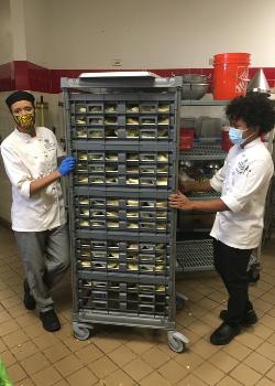 student chefs