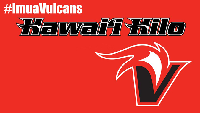 U H Hilo Vulcans logo