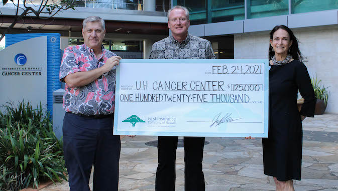 check presentation with three people