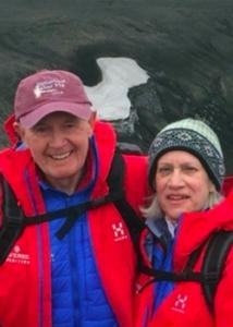 headshots of Arlen and Debra Prentice
