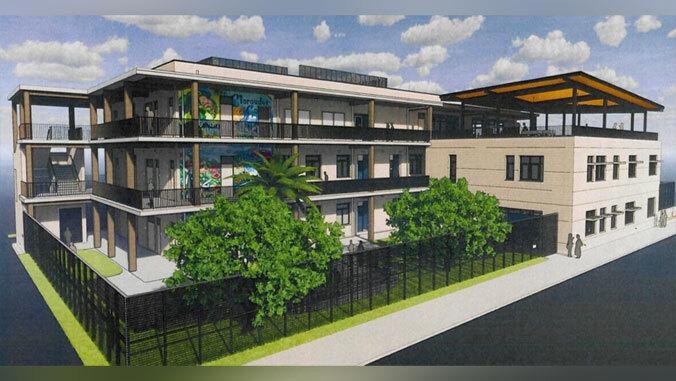 Rendering of new Waipahu High academy