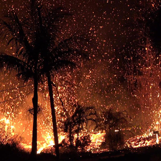 High-risk lava zones with infrequent eruptions attract development