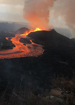 kilauea eruption in 2018