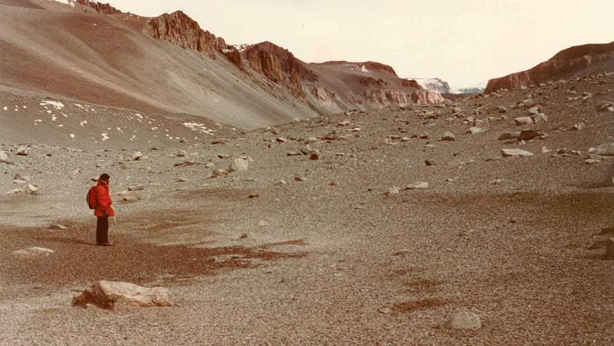 antarctica valley