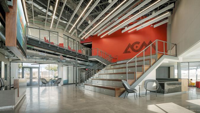 inside the A C M building