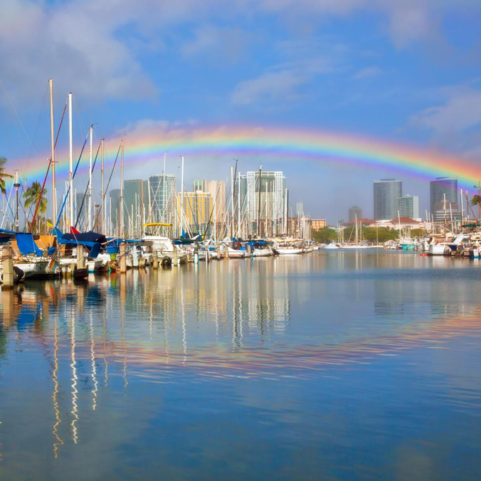 Secrets of the best rainbows on Earth