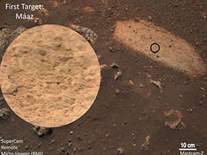 image of mars from SuperCam