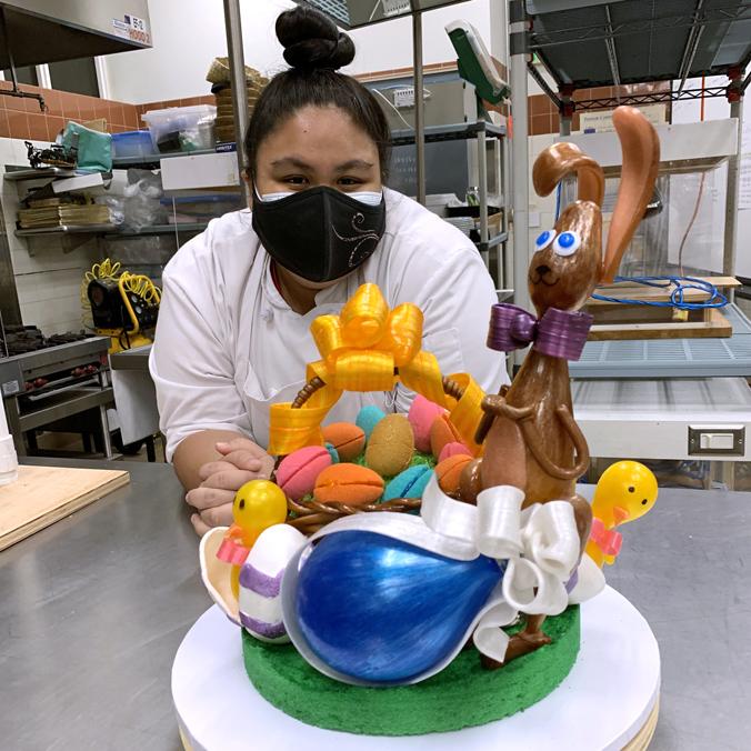 Sweet success: UH Maui College students' sugar showpieces shine