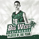 Parapunov repeats as Big West Player of the Year