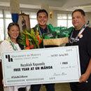 Maui student creates way to free tuition in #TakeMeToManoa contest
