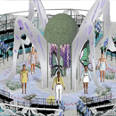 Fashion, theater students' collaborate to design 3D runway show